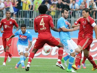 Momentka zo zápasu Bayern