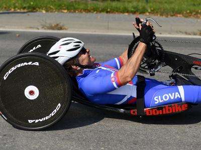 Slovenská paracyklistka Anna Oroszová