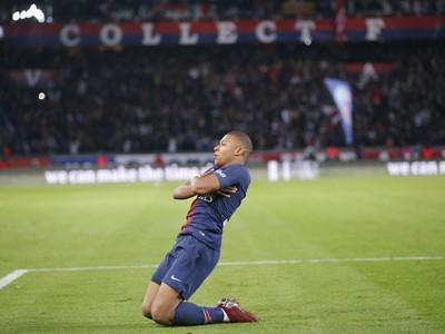 Kylian Mbappé sa raduje z gólu