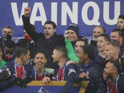Radosť hráčov PSG zo