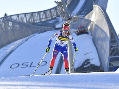 Slovenská biatlonistka Paulína Fialková v šprinte žien na 7,5 km