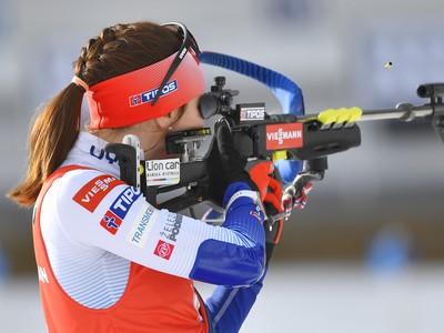 Na snímke slovenská reprezentantka Paulína Fialková