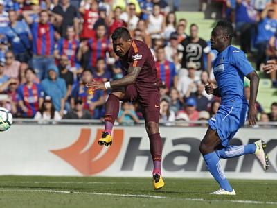 Paulinho pri víťaznom zásahu