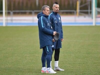Marek Hamšík a tréner