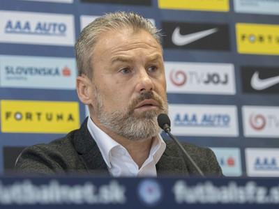Nový tréner slovenskej futbalovej reprezentácie Pavel Hapal