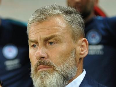 Tréner slovenskej futbalovej reprezentácie Pavel Hapal