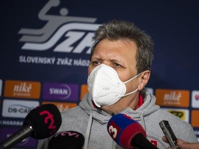 Tréner Slovenska Pavol Streicher