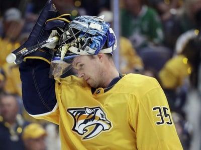 Brankár Nashvillu Predators Pekka