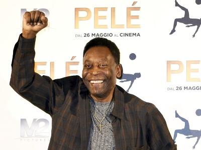 Brazílska legenda Pelé