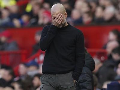 Tréner Manchester City Pep Guardiola
