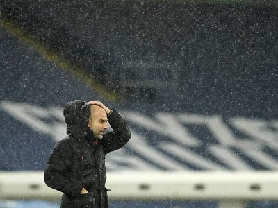 Tréner Manchestru City Pep