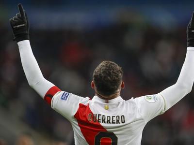 Paolo Guerrero sa raduje z gólu