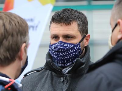 Na snímke výkonný riaditeľ EYOF 2022 Peter Hamaj