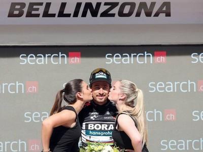 Peter Sagan na Okolo Švajčiarska obhájil čierny dres