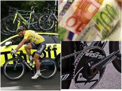 Bicykel pre Petra Sagana