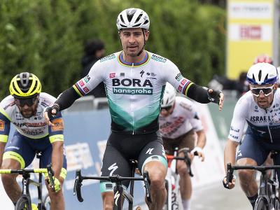 Peter Sagan ovládol prvú