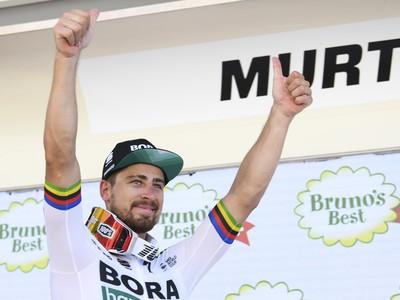 Peter Sagan triumfoval v 3. etape na Okolo Švajčiarska