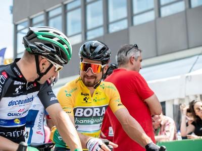 Peter Sagan a Elia Viviani