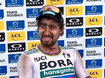 Peter Sagan po víťazstve