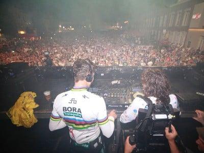 Peter Sagan ako DJ