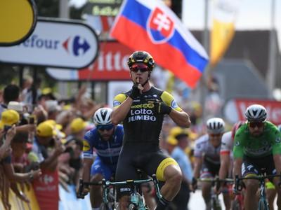 Peter Sagan skončil v