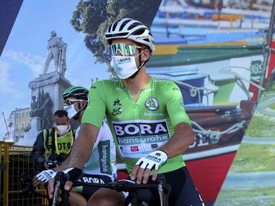 Peter Sagan v zelenom