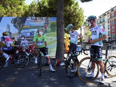 Peter Sagan v zelenom drese