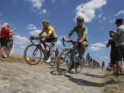 Belgický cyklista Greg van