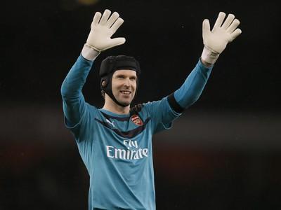 Brankár Arsenalu Londýn Petr