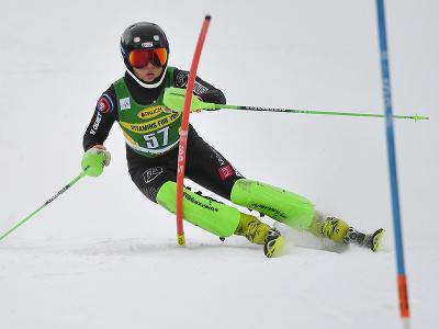 Slovenská lyžiarka Petra Hromcová
