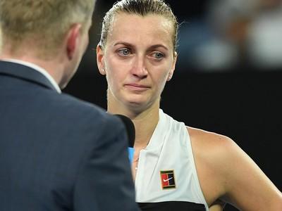 Otázka Couriera dojala Kvitovú k slzám