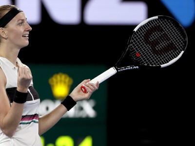 Petra Kvitová postúpila do finále Australian Open
