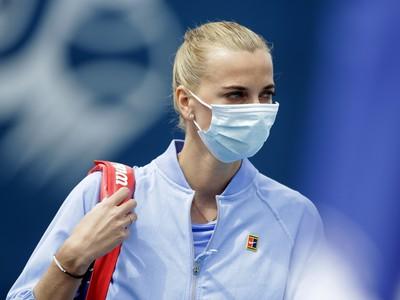 Česká tenisová reprezentantka Petra