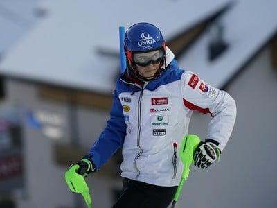 Petra Vlhová pred slalomom vo Flachau