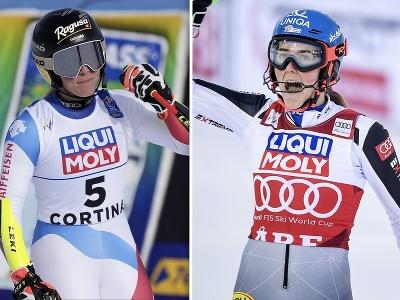 Lara Gut-Behramiová a Petra