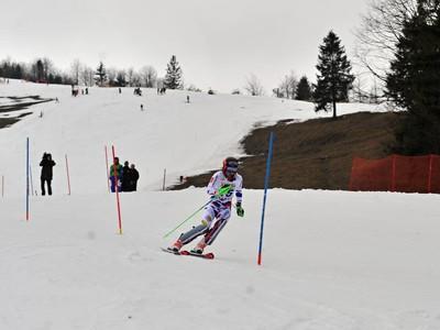 Slovenská lyžiarka Petra Vlhová v slalome žien