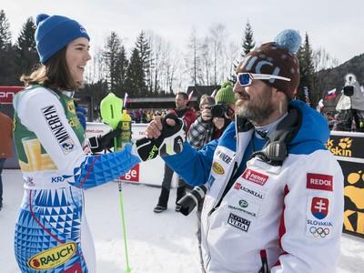 Petra Vlhová a Matej Gemza