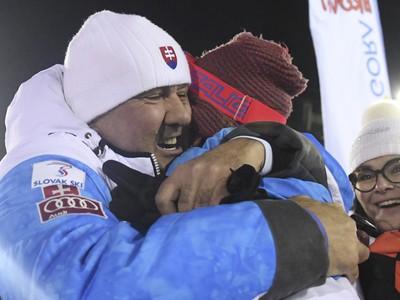 Otec Igor a mama Zuzana blahoželajú majsterke sveta Petre Vlhovej