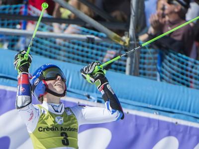 Na snímke slovenská lyžiarka