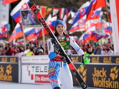 Slovenská slalomárka Petra Vlhová