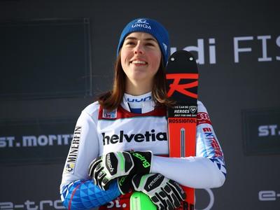 Vlhová s prvým víťazstvom v sezóne, v St. Moritzi ovládla paralelný slalom