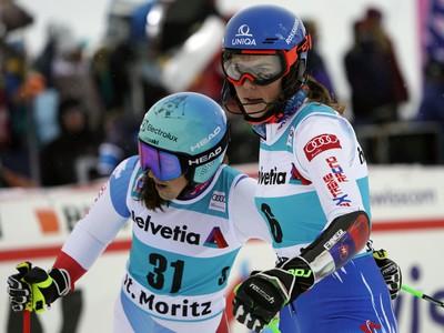Petra Vlhová a Wendy