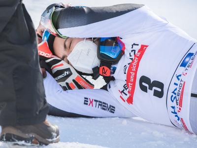 Petra Vlhová sa teší z víťazstva v obrovskom slalome v Jasnej
