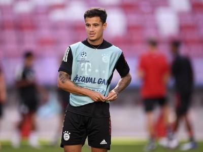 Philippe Coutinho v drese