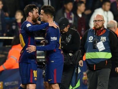 Lionel Messi a Philippe