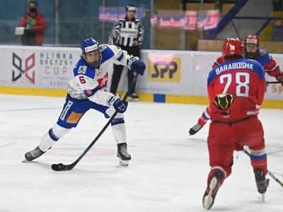 Vľavo hráč Slovenska Jozef