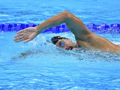 Slovenský reprezentant v plávaní Richard Nagy