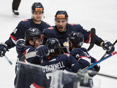 Gólová radosť hokejistov Slovana