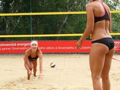 Krásne slovenské plážové volejbalistky