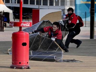 V olympijskom parku úradoval